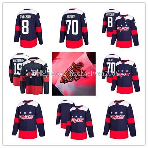 f0e49a65f Mens Womens Youth 19 Nicklas Backstrom Jersey 2018 Stadium Series 77 T.J.  Oshie 92 Evgeny Kuznetsov 83 Jay Beagle Washington Hockey Jerseys UK 2019  From ...
