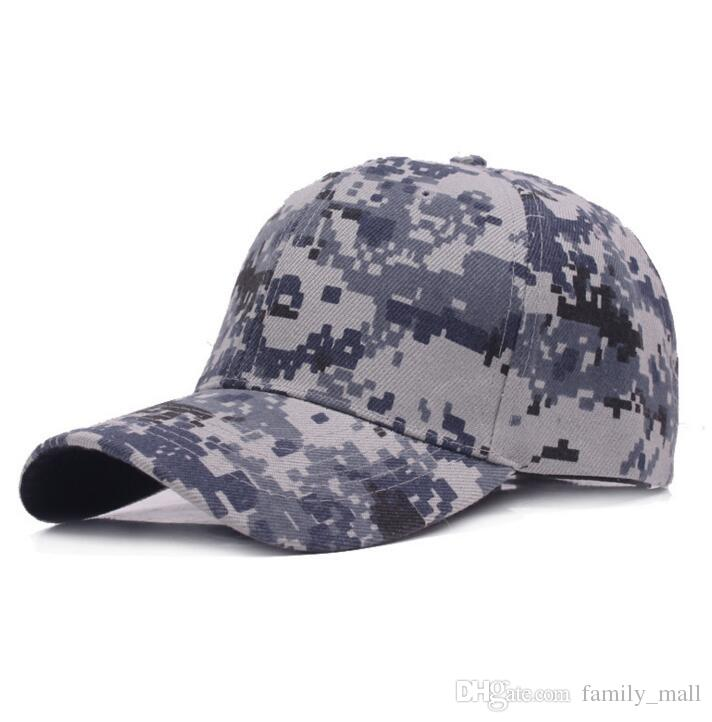 Camouflage Sport Baseball Cap For Men Women Fitted Anapback Adjustable Outdoor climbing casquette Travel sun hat