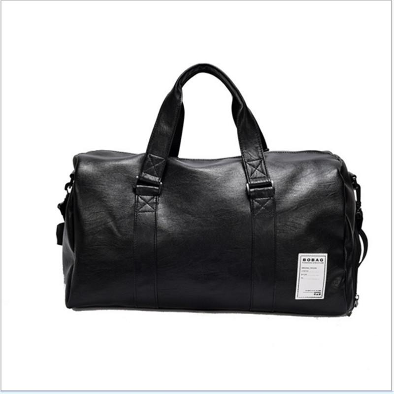 2019 PU Unisex Sport Gym Bag For Men Women With Independent Shoes Travel  Training Fitness Bag Portable Shoulder From Raisins,  52.82   DHgate.Com 9f956305e8