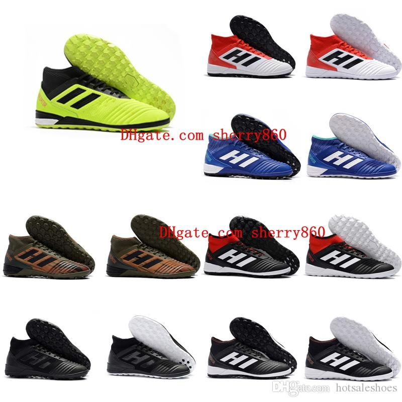 cheap mens soccer cleats predator 18 indoor soccer shoes football boots Predator Tango 18.3 IC TF scarpe da calcio size 39 - 46 Black clearance best store to get cheap sale get to buy best place to buy online nSsWrWet
