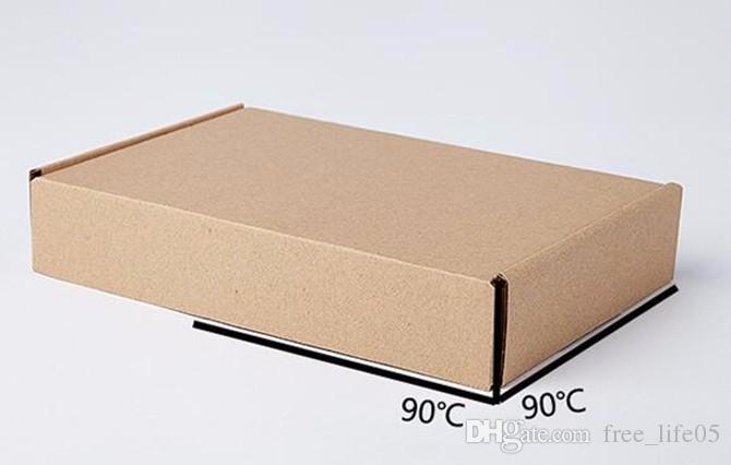 95147fd0d Compre 10 Unids / Lote 20 * 14 * 4 Cm Kraft Bolsas De Papel Reciclable  Regalo De La Joyería Del Pan De Alimentos Envases De Dulces De Compras  Fiesta Paquete ...
