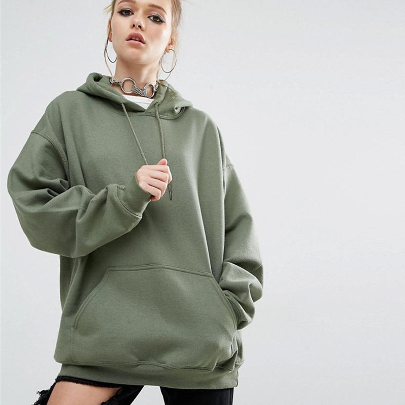dac41352986 2019 Oversized Sweatshirt For Women 2018 Autumn Spring Batwing Sleeve Loose  Women S Sweatshirts With Hood 4XL 5XL Plus Size Hoodie From Vikey10