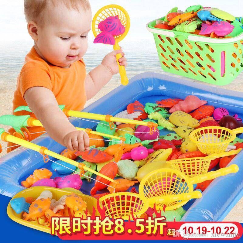 Educational Children Magnetic Fishing Toys Children S Kindergarten