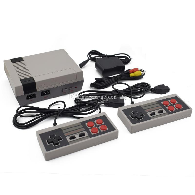 Mini TV 620 Game Console Video Handheld for NES games consoles with retail box Free DHL Shipping