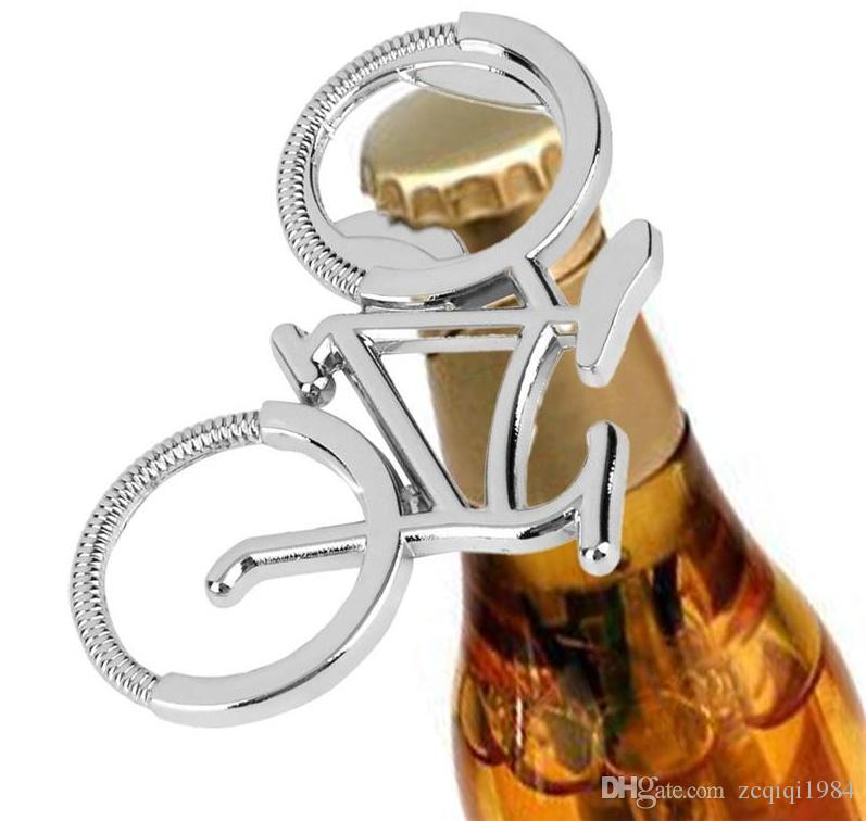 New Fashion Bike Bicycle Metal Beer Bottle Opener keychain key rings for bike lover biker Creative Gift for cycling