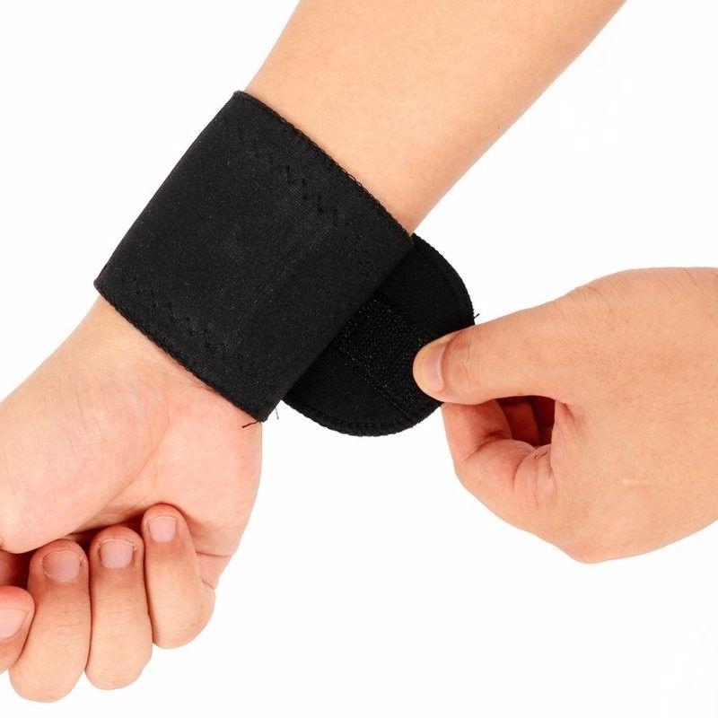 2 Шт. Магнитная Терапия Запястье Brace Защиты Пояса Спонтанное Отопление Запястье