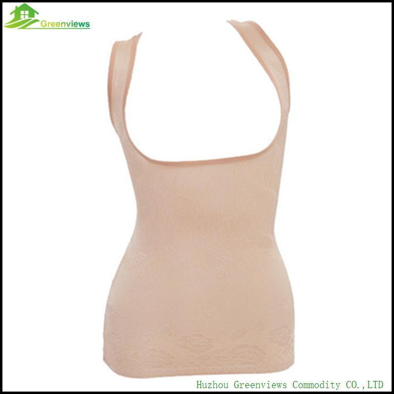 02f1c5e4d9829 2019 Fashion Slimming Bust Up Body Shaper Tummy Fat Control Camisole Tank  Top Contral Tops XL 3XL Black Skin Purple From Aimea