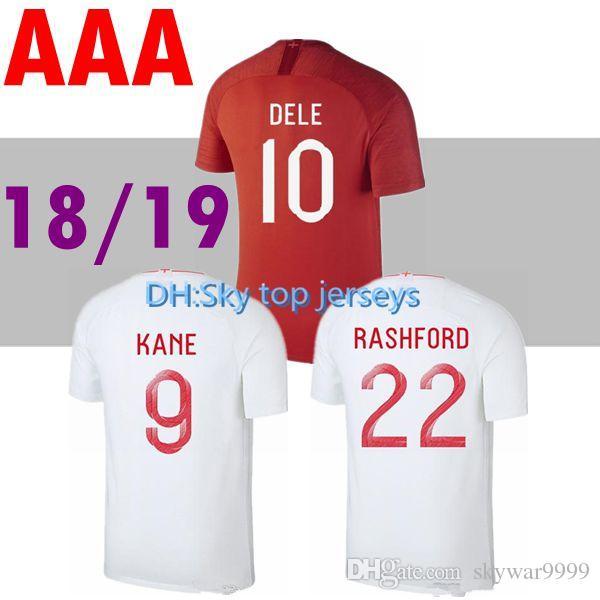 347c2f3ae 2018 2019 Soccer Jersey World Cup ROONEY Home KANE STURRIDGE ...