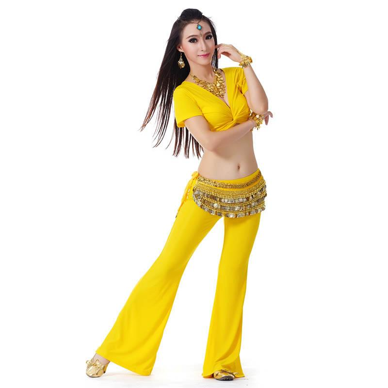 6c7a0b762849 2019 Quality Modal Belly Dance Costume Set Dancer Practice Stage ...