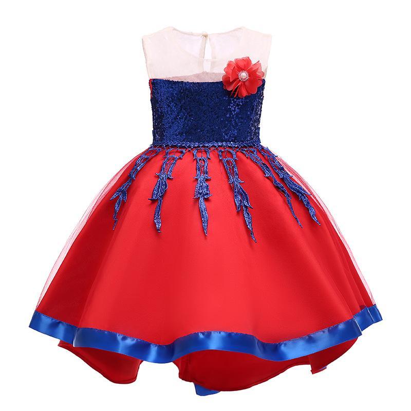 e9de9856cad Acheter Noël Bébé Filles Robe De Fleur Enfants Robes De Princesse De Noël  Mode Boutique Robe De Bal Vêtements Enfants 3 Couleurs C1811022 De  12.58  Du ...