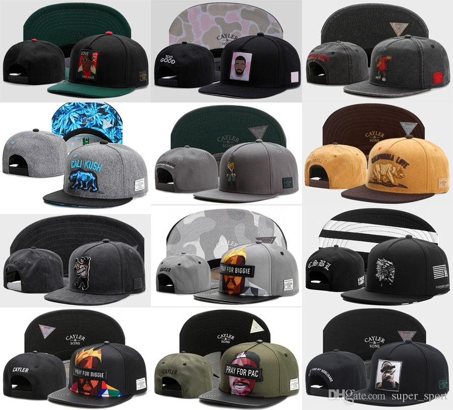 Hip Hop CAYLER SONS KUSH Caps Hat Brands Bboy Cap Men Women Adjustable  Sport Baseball Beat Boy Snapback Hats Embroidered Hats Leather Hats From  Super sport d4be4fae5f6