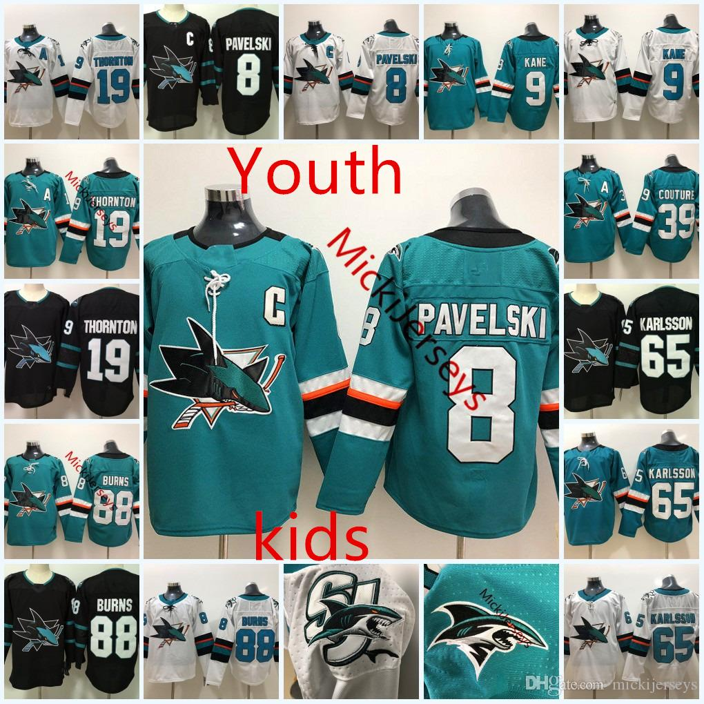 finest selection eea40 17d41 reduced san jose sharks kids jersey b48d1 dea07