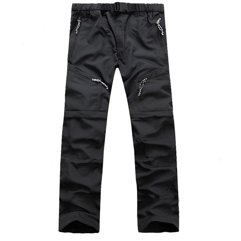 7abc1cba25 New Mens Removable Quick Dry Sport Hiking Outdoor Pants Men Trekking ...