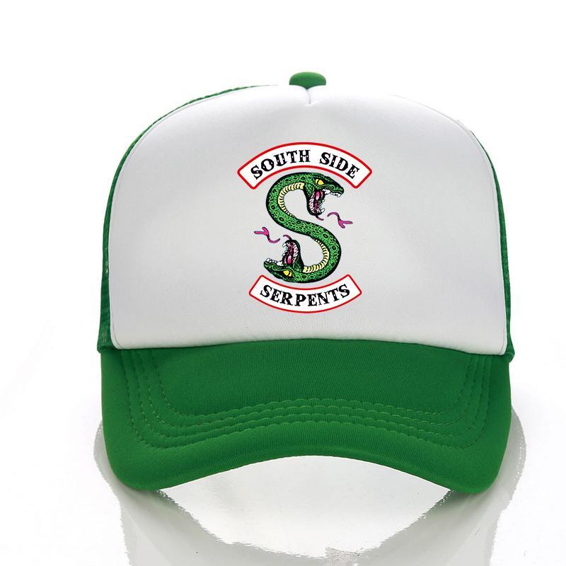 Riverdale Caps 2018 Summer New Riverdal Logo Print Baseball Cap Fashion Men  Women Mesh Cap Daft Punk Riverdale Hat Trucker 59fifty Snapback Cap From ... f56642d906a1