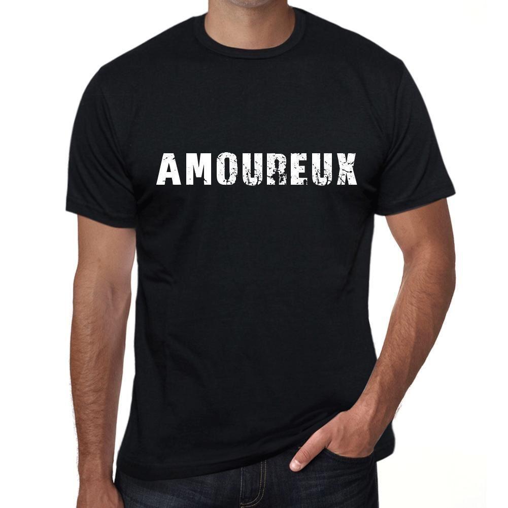 Amoureux Homme T Shirt Noir Cadeau D Anniversaire 00549 T Shirt