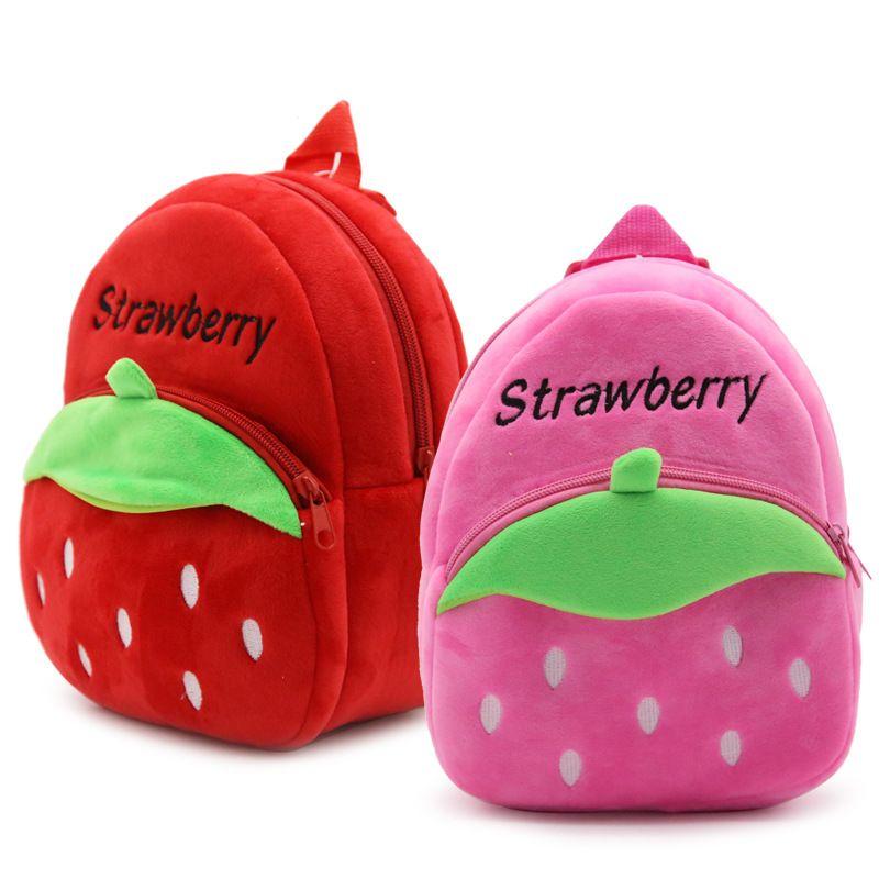 d927fa01fa Kid School Bags Strawberry Infantil School Bags For Girls Felt Zipper  Escolar For 3 5Y Kid Backpack Swiss Gear Backpack Osprey Backpacks From  Abbybab