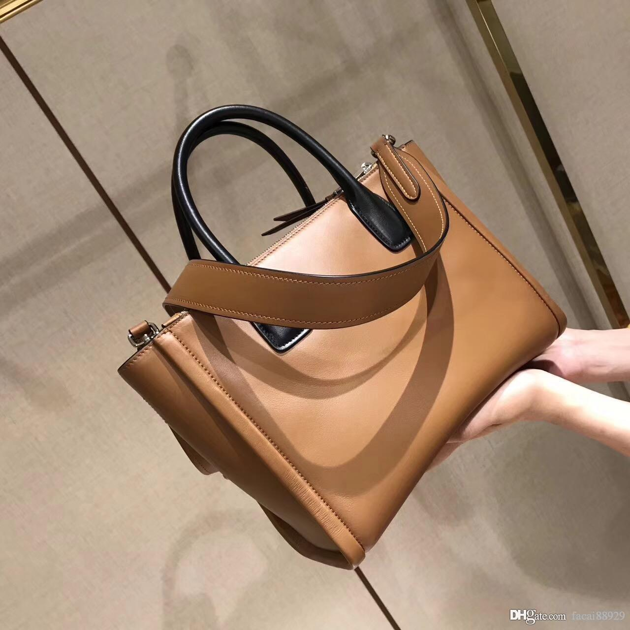 Woman Messager Bag High Quality Fashion PRD CONCEPT Cowhide Calf Genuine  Leather Classic Female Handbags Motorcycle Vintage Crossbody Bags Bags For  Sale ... f32a066dba2