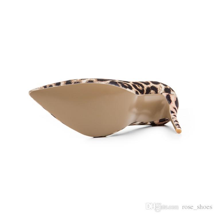 Sexy nuevos zapatos de boda estampado de leopardo estilete delgado tacones altos de charol gladiador sandalias mujer bombas zapatos mujer