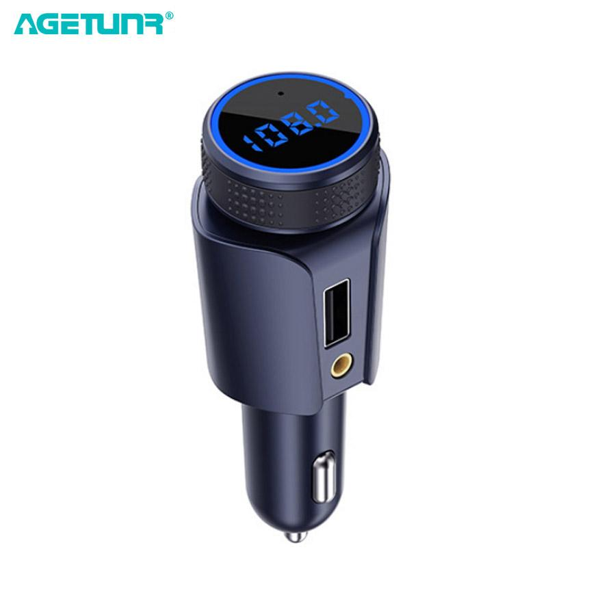 2019 agetunr bluetooth 4 1 car kit handsfree set mp3 player fm2019 agetunr bluetooth 4 1 car kit handsfree set mp3 player fm transmitter usb car charger 5v 2 1a support micro sd card music play from pubao,