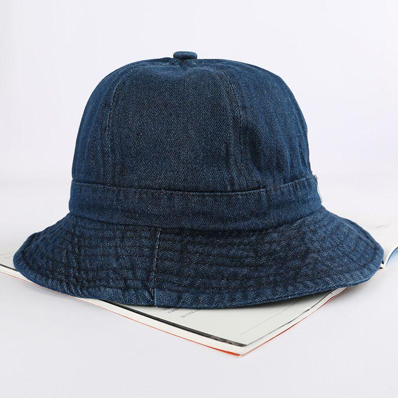 4993f9216 Women Denim Fashionable Outdoor Fishing Sun Hat Floral Fisherman Panama Cap  Bob Chapeau Cotton Brand Summer Bucket Hat Hip Hop