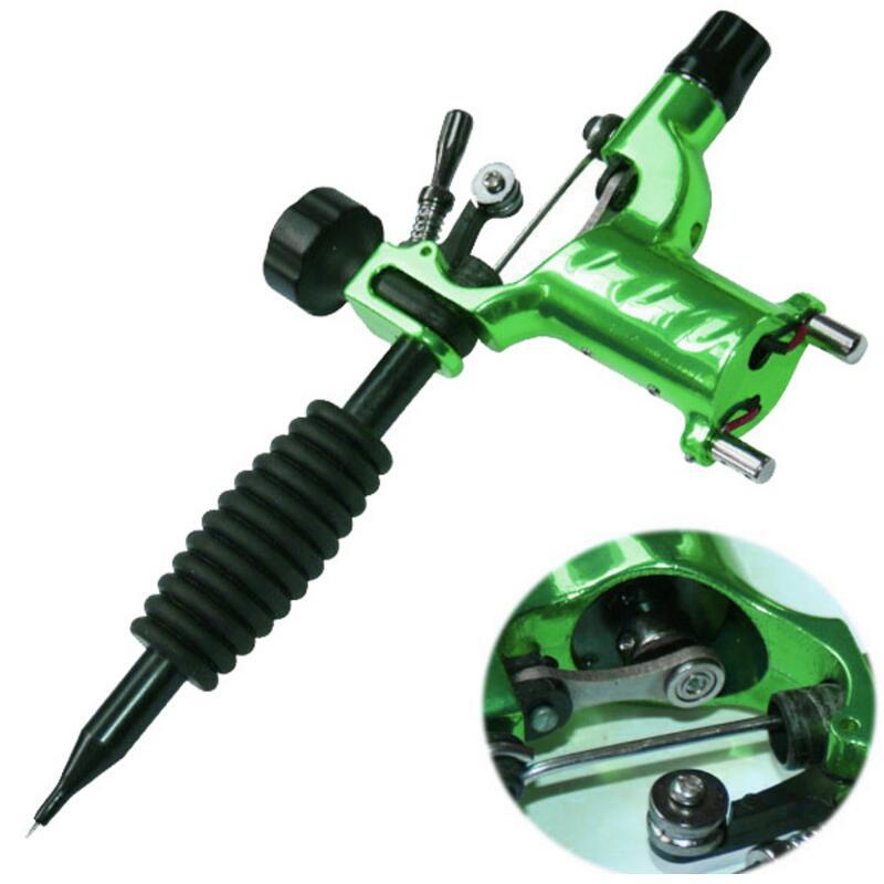 Dragonfly Rotary Tattoo Machine Shader & Liner Assorted Tatoo Motor Kits Supply 7 Colors Tattoo Guns Free Shipping