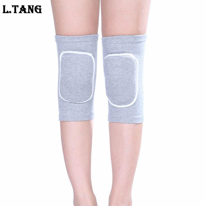 1 Paar Sport Jogging Knie Pads Frauen Schwamm Yoga Basketball Knie Unterstützung Schwarz Farbe Sicherheit & Schutz