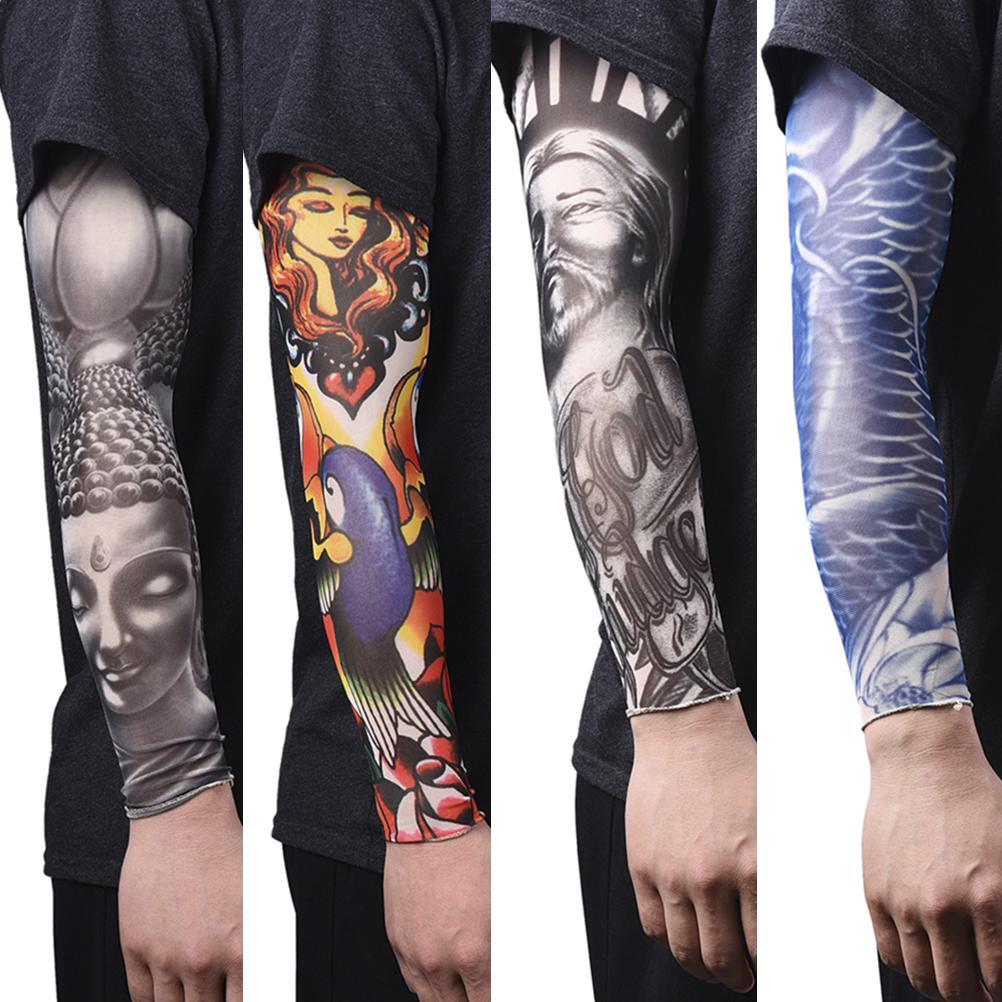 acheter nouveau bras chaud de protection solaire bras tatoo manches