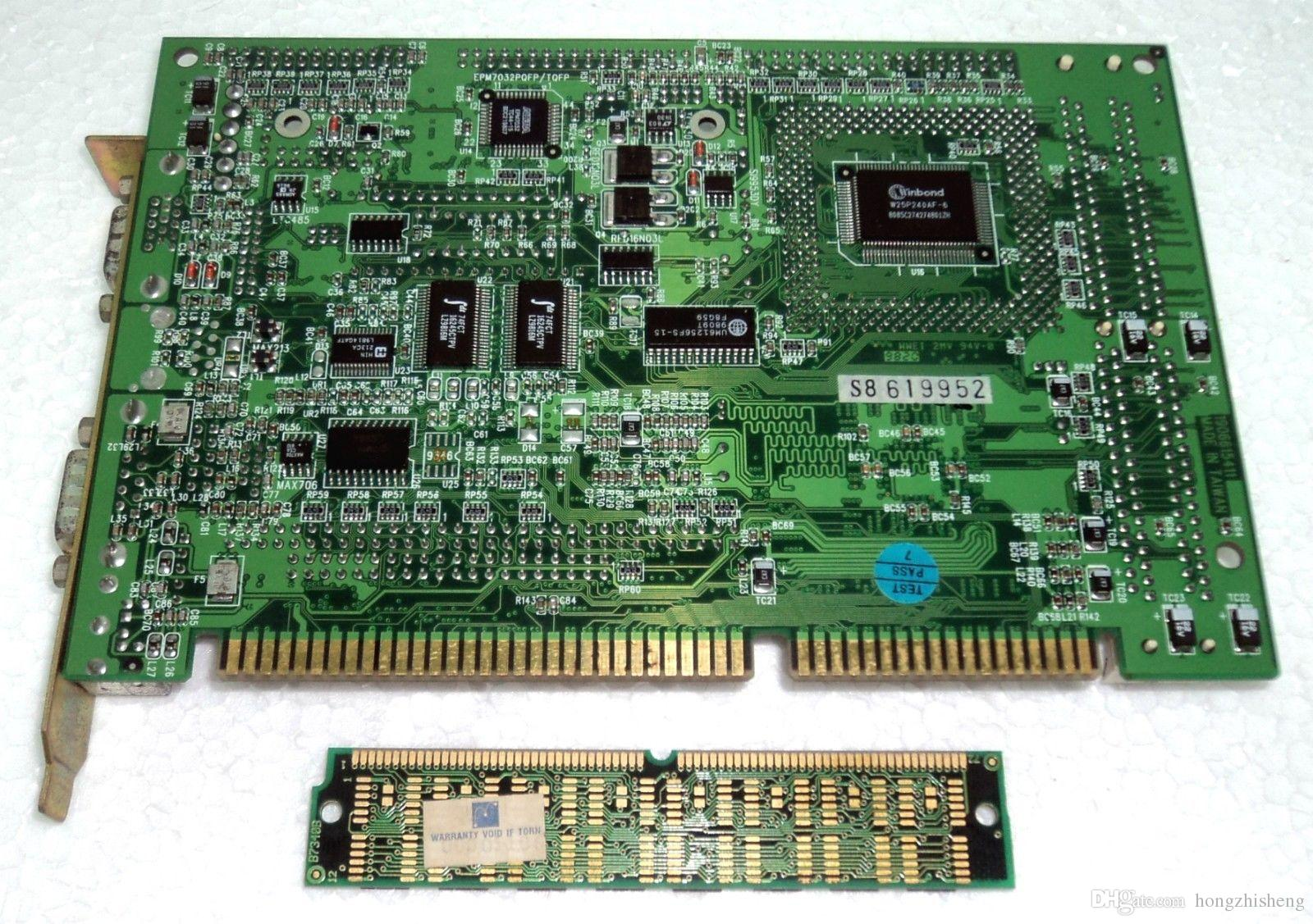 Плата промышленного оборудования PCA-6154 586 CPU CARD REV A4 01-A-6154L
