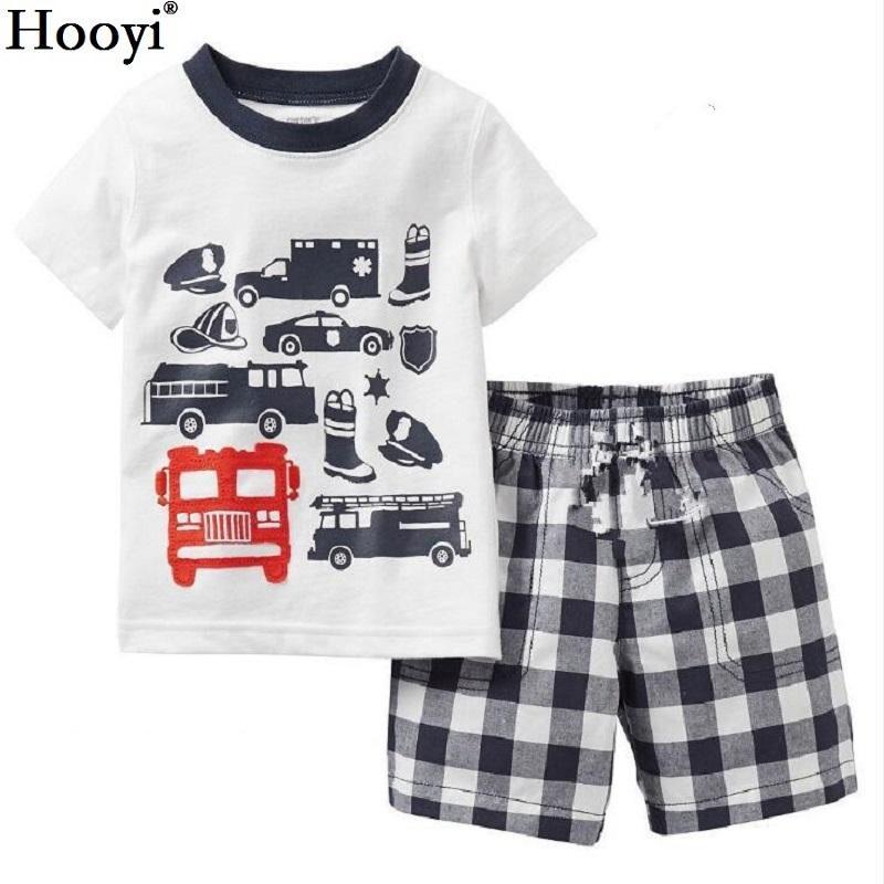 856e28bd73bc Fashion Boys Clothes Kids Pajamas Sets Racing Luxury Car Children T ...