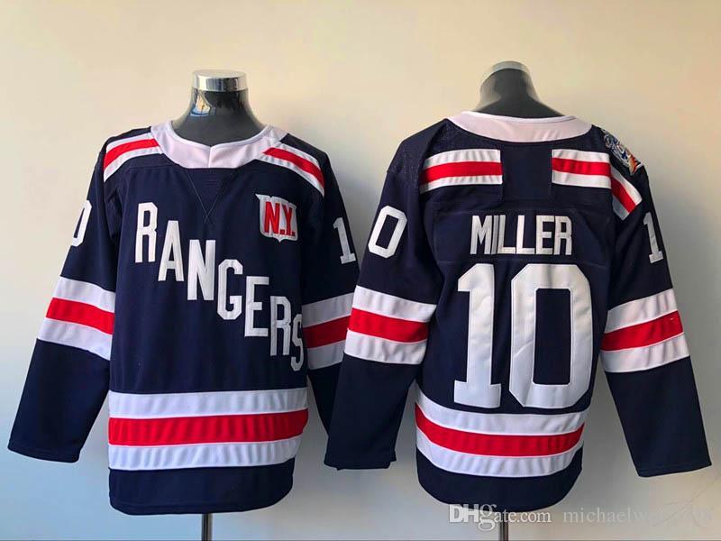 17 Jesper Fast Jersey 2018 Winter Classic New York Rangers Jersey Blank 27 Ryan McDonagh 30 Henrik Lundqvist Hockey Jerseys