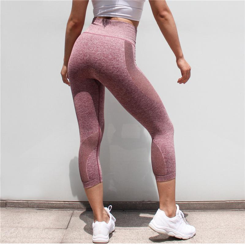 Shaping Sportlegging.2019 Sport Legging Women Mesh Shaping Panty Tights Push Up Lift The