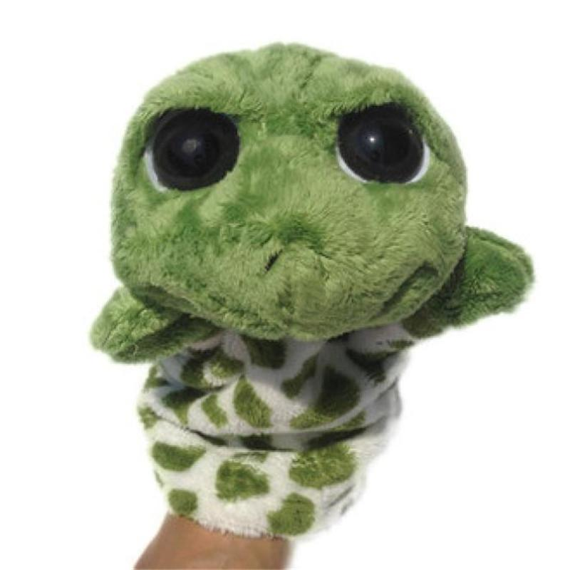 Venda quente Pretend Play Presente de Natal Bonito moda brinquedos fantoche de dedo boneca de corpo inteiro fantoche de mão brinquedos