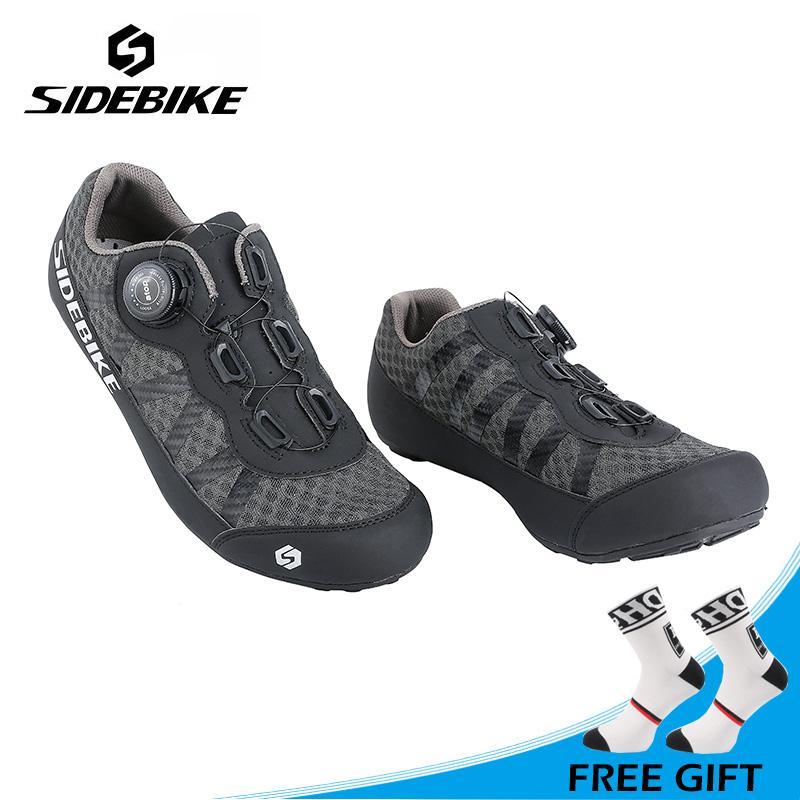 Sidebike Unisex Ocio Al Aire Libre Zapatos Para Montar En Bicicleta De  Montaña Zapatos De Ciclismo De Carretera Antideslizantes Zapatillas  Transpirables ... 39ac1e237223