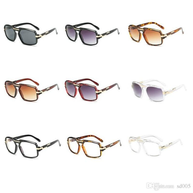 Square Plain Glass Spectacles Soft Light Eye Protection Sun Glasses Cozy Frame Men Women Sunglasses High Quality 17gy B