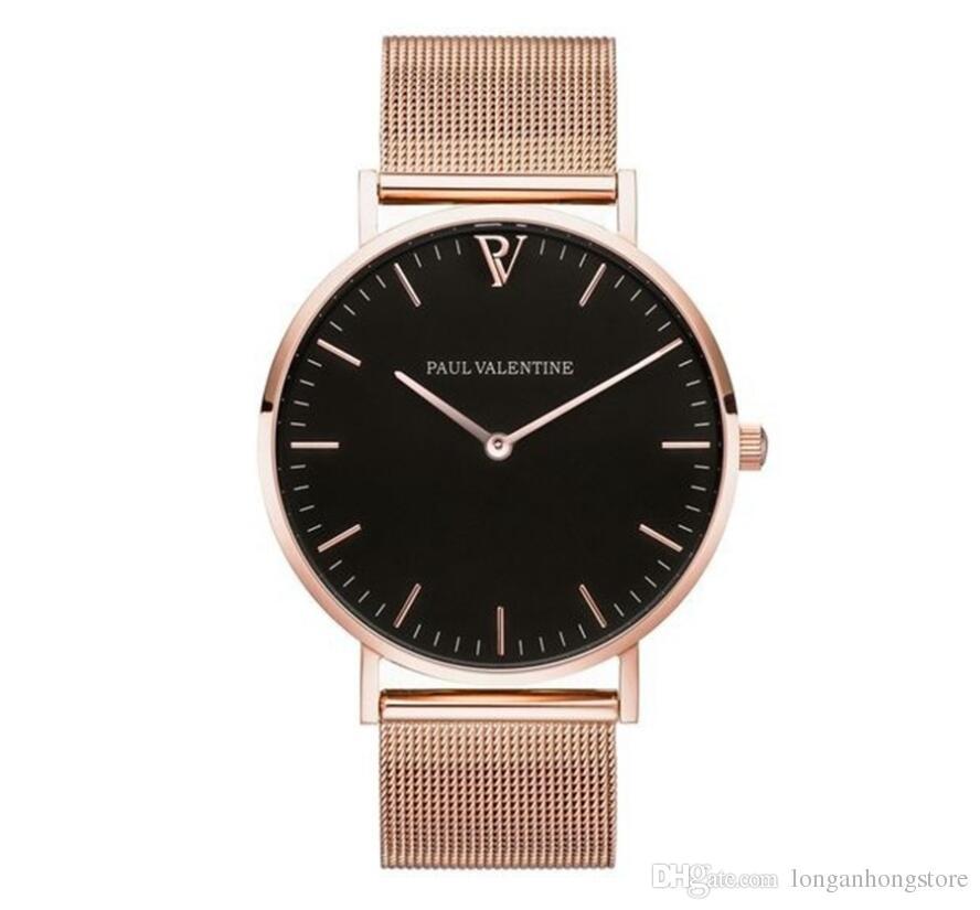 Mode Lässig Einfache Uhr Für Frauen Top Marke Mesh Band Armbanduhren Luxus Designer Analog Uhr Relogio Reloj Zeland Weihnachtsgeschenk