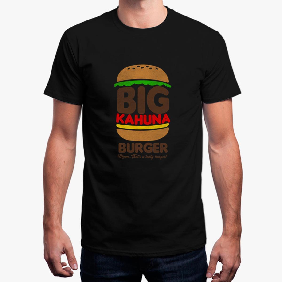 c710a7ab0b9a Дешевые Продажа Большой Kahuna Burger Футболка Для Мужчин Сплошной Цвет  Футболка Для ...