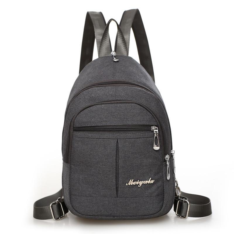 c9ca3be2d 2017 New Canvas Women Backpacks Crossbody Shoulder Bags Multifunctional  Casual Female Small Travel Bag Rucksacks Back Pack Mens Backpacks Swiss  Army ...