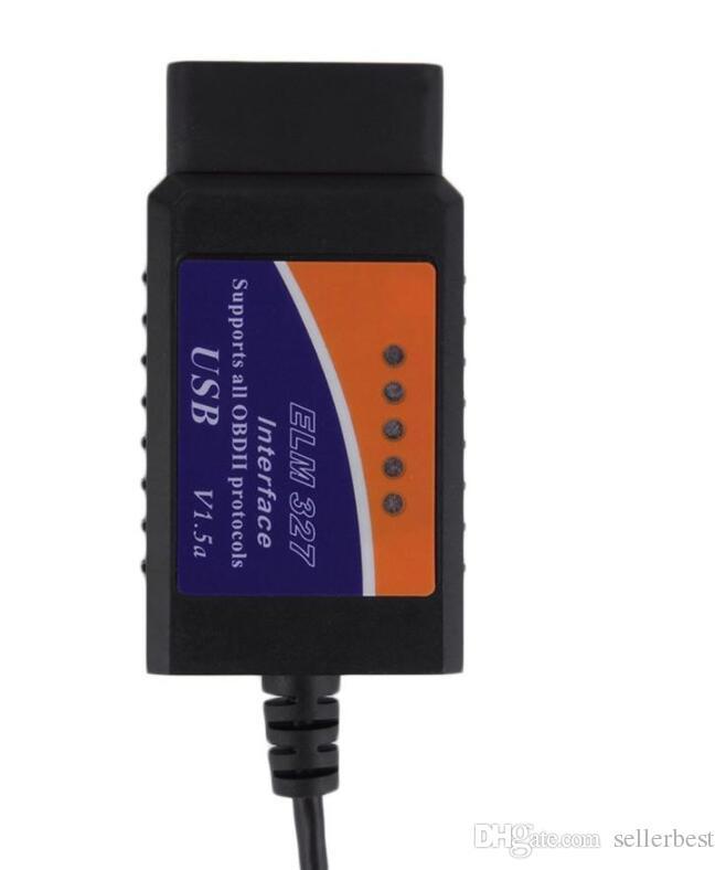 ELM327 USB OBD2 Selbstautodiagnosewerkzeug ELM 327 V1.5 V1.5A USB-Schnittstelle OBDII CAN-BUS Scanner