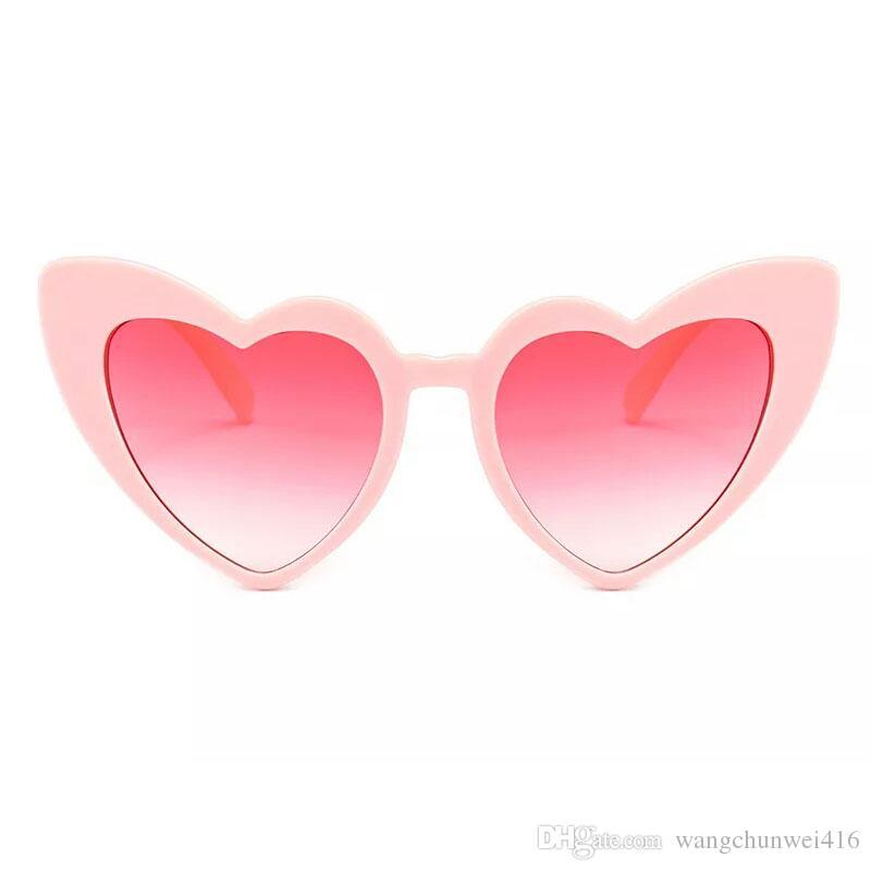 aea87712dc7 Fashionable Heart Sunglasses for Women Unique Cat Eye Sunglasses Black Pink  Red Heart Shape Sun Glasses for Women Uv400 Heart Sunglasses for Women Cat  Eye ...