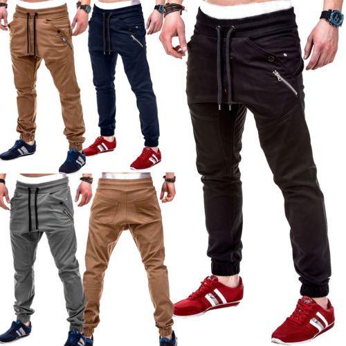 f1670e692 Compre Pantalones Deportivos Slim Fit Para Hombre Pantalones Cortos De  Chándal Skinny Joggers Sweat Track Pants 2018 Nuevos Pantalones Deportivos  Running De ...