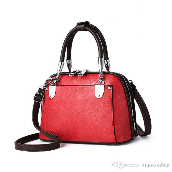Designer Handbags Crossbody Bag 2018 Brand Fashion Luxury Designer Bags  Shell Vintage Ladies Cross Body Bags For Women Hobo Handbags Red Handbags  From ... 15b2329830