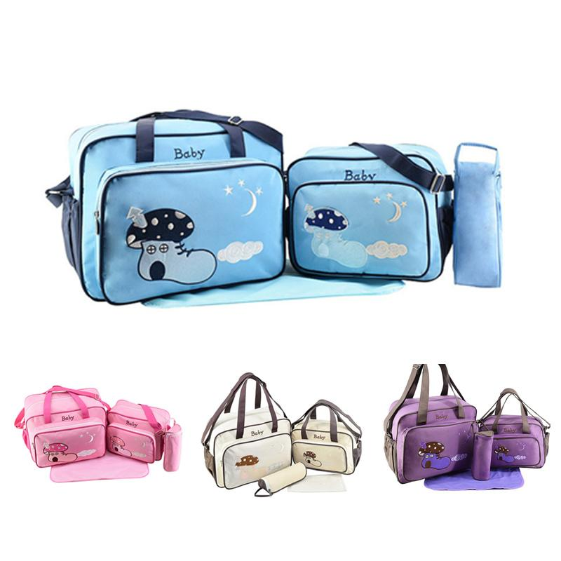 d3ac3d7eb09a 2018 Baby Diaper Bag Sets Changing Nappy Bag For Mom Multifunction Stroller  Tote Organizer From Fragranter
