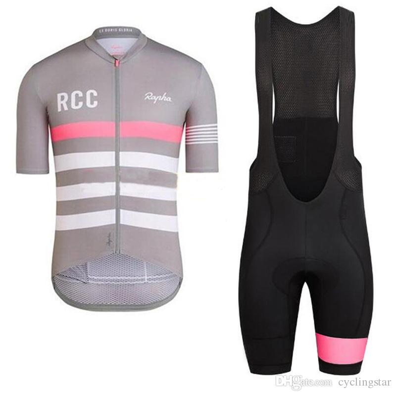 2018 RCC summer men cycling jersey set short sleeve road MTB cycling wear bicycle clothes cycling gear high quality bike sportswear D0301