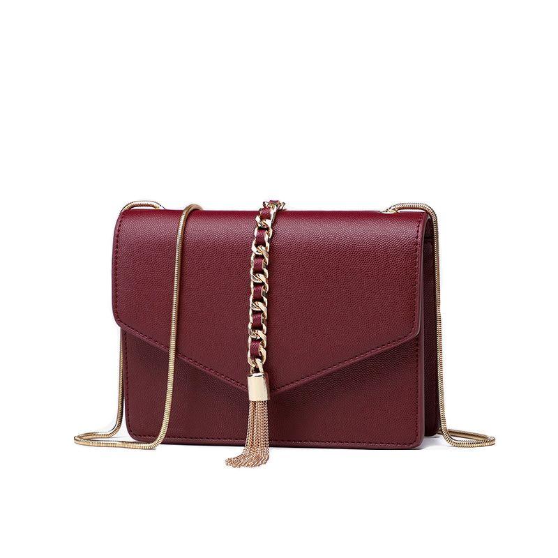92ff189da3f1 Tassel Women Shoulder Messenger Bags PU Leather Handbag Female ...