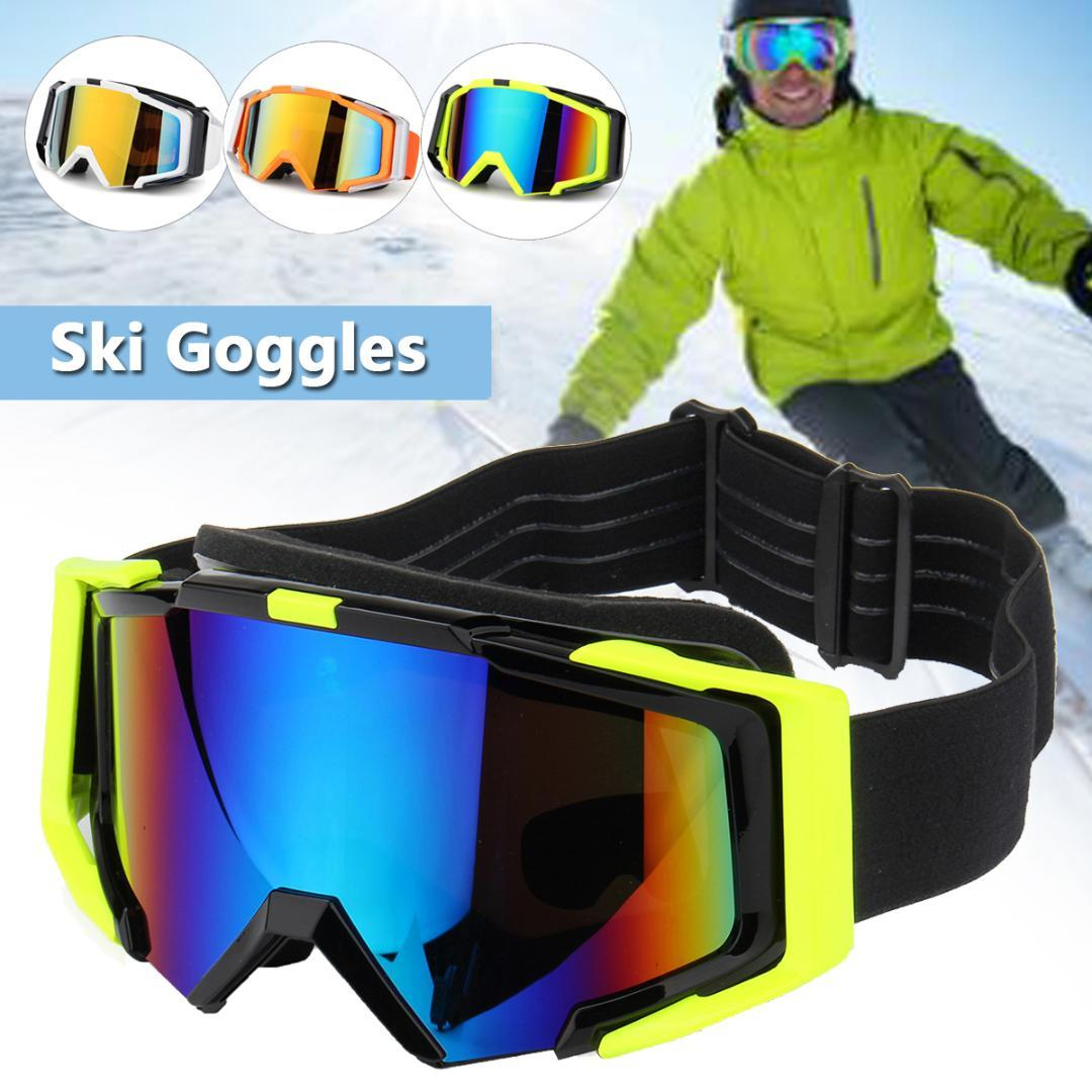 bb9775d9bcd 2019 Ski Goggles Men Sports Snowboard Goggles Women Snow Skiing Eyewear UV  Protection Anti Fog Adult Snowboard Skiing Glasses From Newhappyness