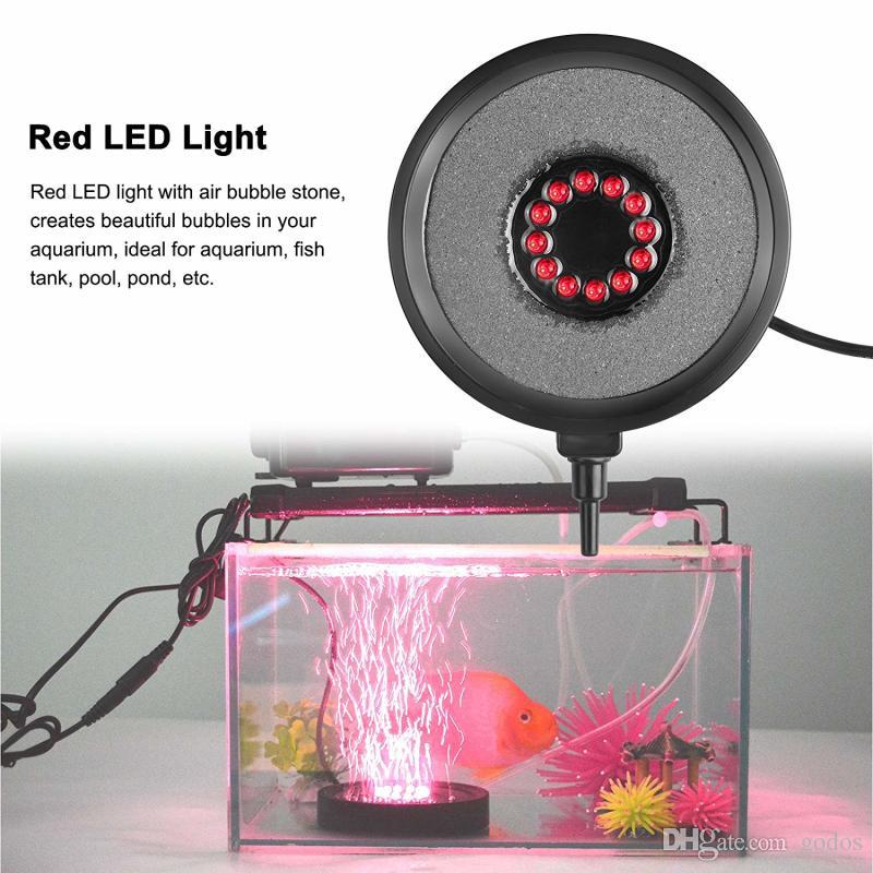 underwater bulbs household aquarium lighting decoration equipment fish oxygen 10cm diameter led diving bubble light aquarium fish tank air