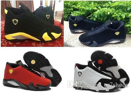 bc2f50d6d704 High Quality 14 14s Black Toe Fusion Varsity Red Suede Thunder Mens  Basketball Shoes Cool Grey DMP Candy Cane Sneakers With Shoes Box Jordans  Running Shoes ...