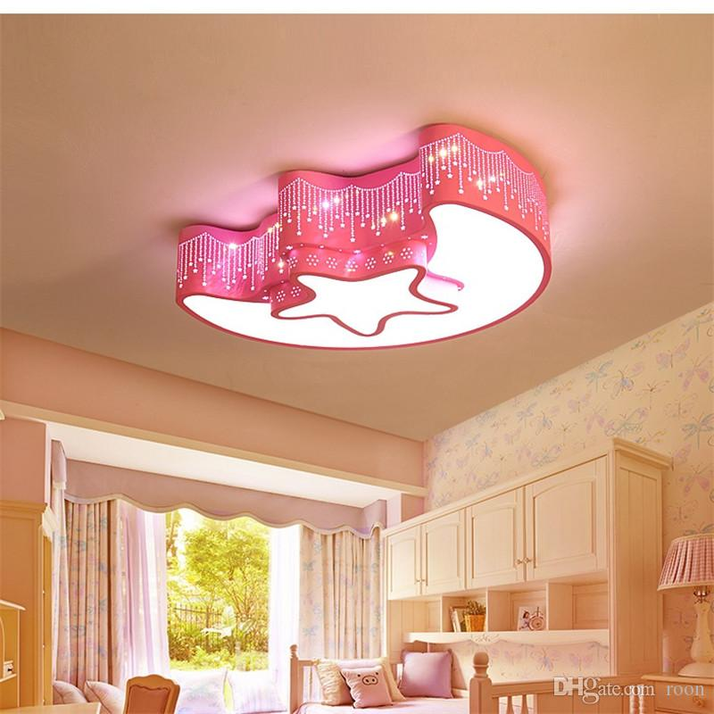 Ceiling Lights Cute Cartoon Starfish Led Ceiling Lamp Children Room Ceiling Light Creative Acrylic Ceiling Lamp For Bedroom Baby Room Lighting