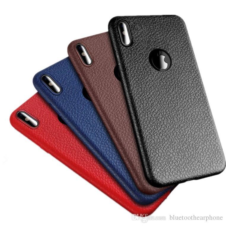 Protection Telephone Portable Etui De Luxe En Cuir Pour IPhone 8 8 TPU  Ultra Fin Housses Minces Pour Apple IPhone 7 6 6s Plus Housses De Protection  ... d3011b39d8d