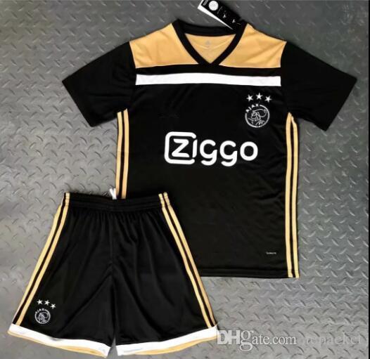 Ajax Away Jerseys 2018 Ajax FC Soccer Jerseys Kits 17 18 Camisa VAN ... 34153f5f0